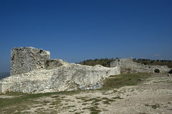 Citadel, Berati, Albania Royalty Free Stock Images