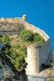 Citadel of Bonifacio - Corsica, France Stock Image