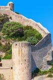 Citadel at Bonifacio, Corsica island, France Stock Image