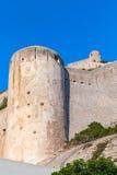 The citadel at Bonifacio, Corsica island Royalty Free Stock Image