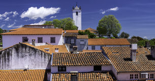 The citadel, Braganca, Portugal. Ancient town of Braganca, Tras-os-Montes Province, northern Portugal Stock Photography