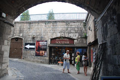 Citadel Budapest Hungary view, Stock Photos