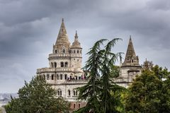 The citadel of Budapest`s old town
