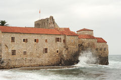 The citadel of Budva Stock Image
