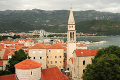 The citadel of Budva Stock Images
