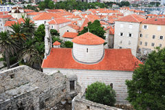 The citadel of Budva Stock Photos