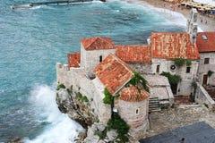 The citadel of Budva. On Montenegro Stock Photography