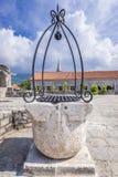 Citadel in Budva. Well in Old Town citadel of Budva coastal town, Montenegro Royalty Free Stock Photo