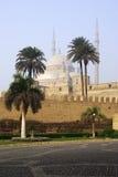 Muhammad Ali Alabaster Mosque Cairo Citadel Egypt castle tower landmark old Africa Saladin hill mokattam tourism ramadan african Stock Photography