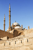 Citadel of cairo in egypt Royalty Free Stock Images