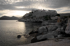 The Citadel of Calvi Stock Photo