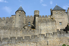 The citadel of Carcassonne Stock Photography