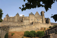 The citadel of Carcassonne Royalty Free Stock Image