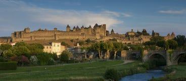 Citadel of Carcassonne stock photos