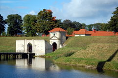 Citadel   Castellet in Copenhagen, Denmark Royalty Free Stock Images