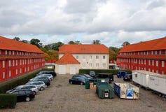 Citadel   Castellet in Copenhagen, Denmark. Entrance to the citadel of Castellet. Copenhagen, Denmark Royalty Free Stock Photography