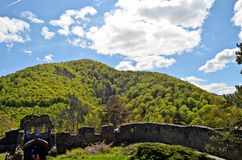 Citadel Cisnadioara royalty free stock image