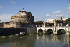 Castel St. Angelo, Rome, Italy Royalty Free Stock Image