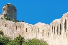 Citadel of the city of  Bonifacio - Corsica, France Royalty Free Stock Images