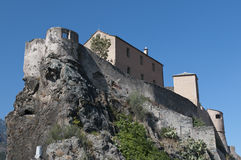 Citadel of Corte Stock Images