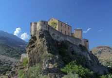 Citadel of Corte, Corsica Stock Photo