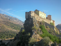 Citadel of Corte, Corsica Stock Images