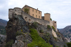 The Citadel of Corte Royalty Free Stock Photo