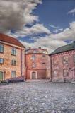 Citadel courtyard Royalty Free Stock Image
