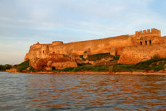 Citadel on the Dniester estuary Stock Image