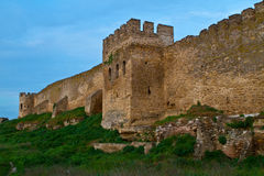 Citadel on the Dniester estuary Stock Photography