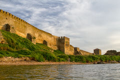 Citadel on the Dniester estuary. Royalty Free Stock Images