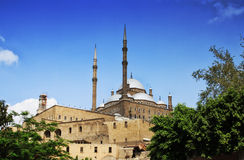 The Saladin Citadel of Cairo. A medieval Islamic fortification in Cairo, Egypt Stock Photo