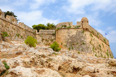 Citadel Fortezza in city of Rethymno Stock Photo