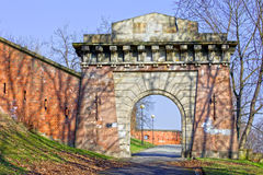 Citadel Gate in Warsaw Stock Image
