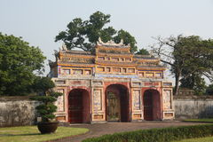 Citadel Hue. Historic and tourist site in Hue Vietnam stock images