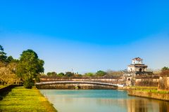 Citadel in Hue Royalty Free Stock Images