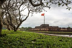 Citadel of Hue, Vietnam Royalty Free Stock Image