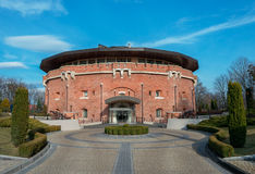 Citadel Inn Hotel. Located in an old fortress in Lviv, Ukraine Royalty Free Stock Photos