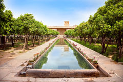 citadel inom karminen khan shiraz Royaltyfri Fotografi