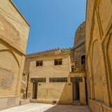 Citadel inside walls angle Royalty Free Stock Photo