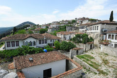 The citadel of Kala at Berat Royalty Free Stock Photo