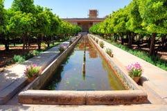 Citadel of karim Khan (Arg-e-Karim Khan). The imposing citadel dominates the city center of Shiraz Royalty Free Stock Image