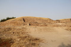 Citadel mound of Dholavira Stock Image