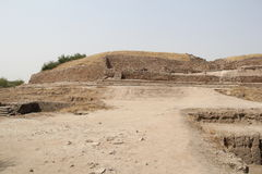 Citadel mound of Dholavira Stock Photos