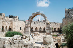 The Citadel Museum, Tower of David Museum Stock Photo