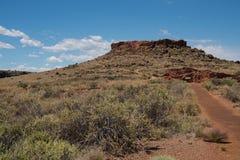 Citadel and Nalakihu Pueblos Stock Image