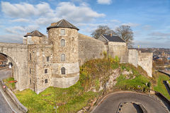 Citadel in Namur, Belgium Stock Photography