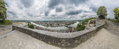 Citadel of Namur in Walloon Region, Belgium Stock Photo