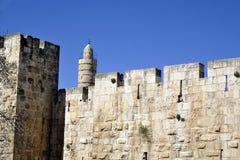 Citadel in old Jerusalem. Royalty Free Stock Images