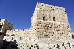 Citadel in old Jerusalem. Stock Images